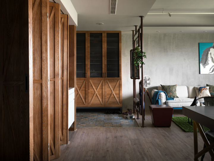 contemporary family apartment interior design 10