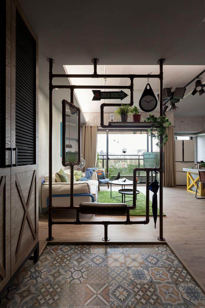 contemporary family apartment interior design 11