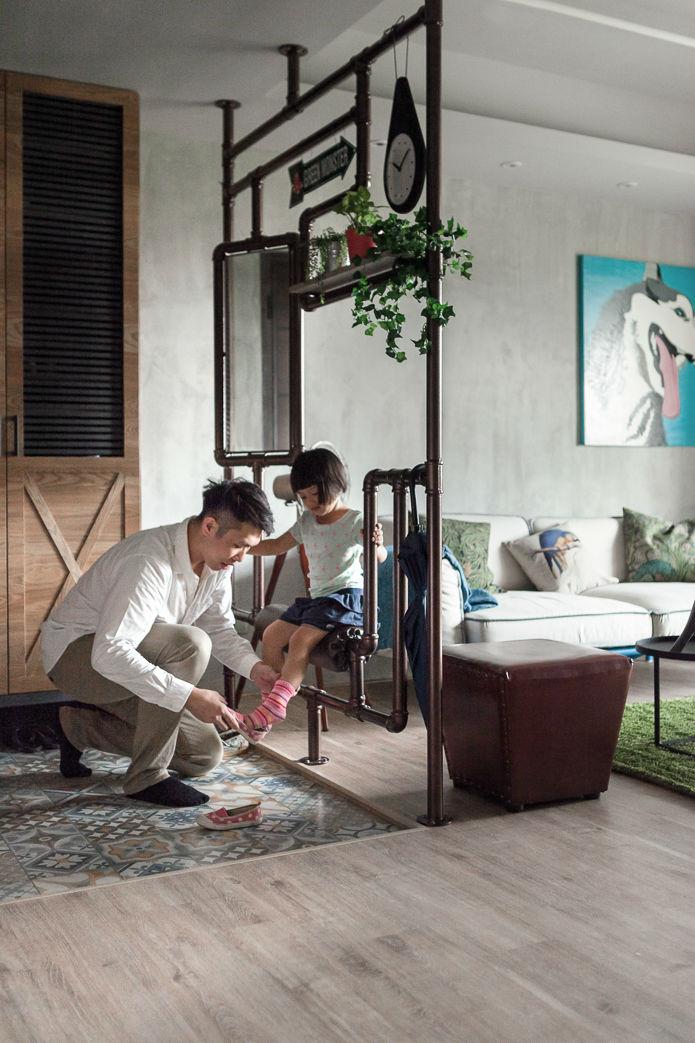 contemporary family apartment interior design 12