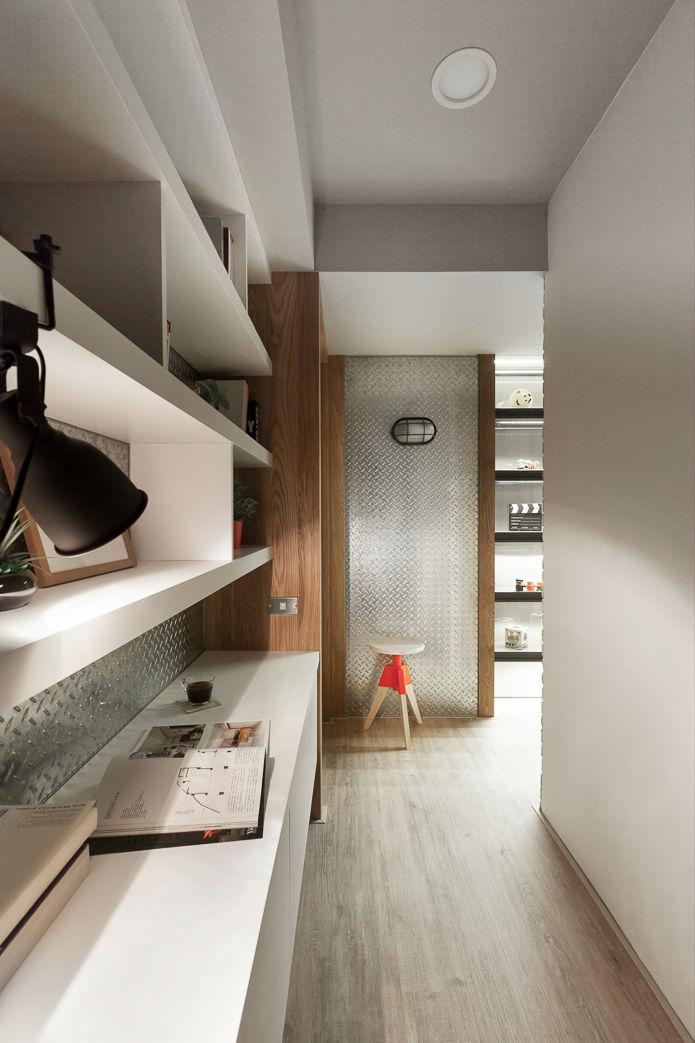 contemporary family apartment interior design 13