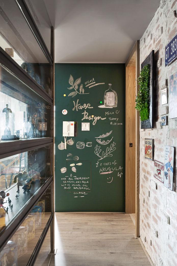 contemporary family apartment interior design 15