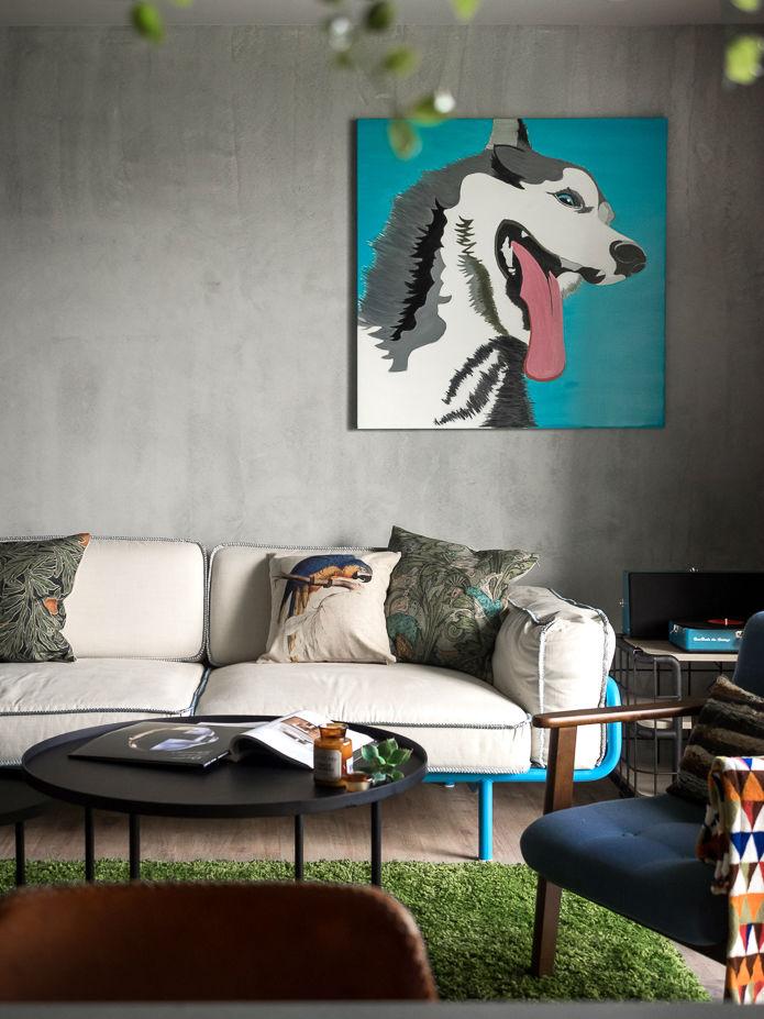 contemporary family apartment interior design 2