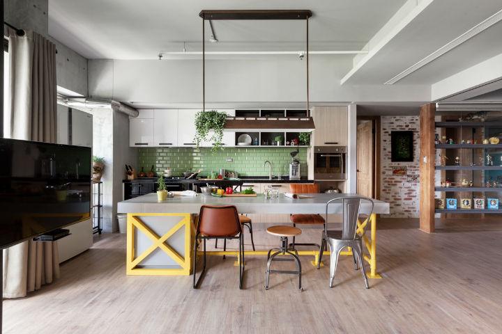 contemporary family apartment interior design 5