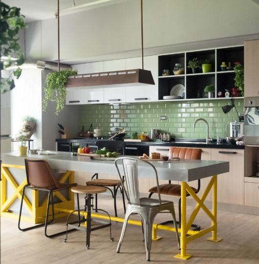 contemporary family apartment interior design