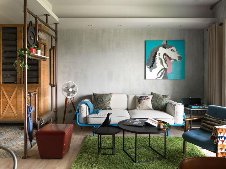 contemporary family apartment interior design 7