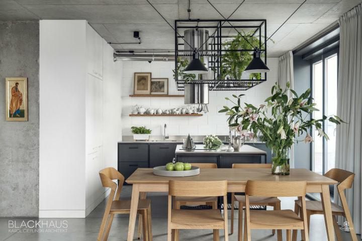 contemporary concrete house interior design 10