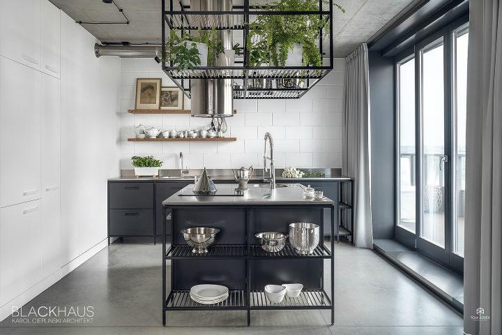 contemporary concrete house interior design 12