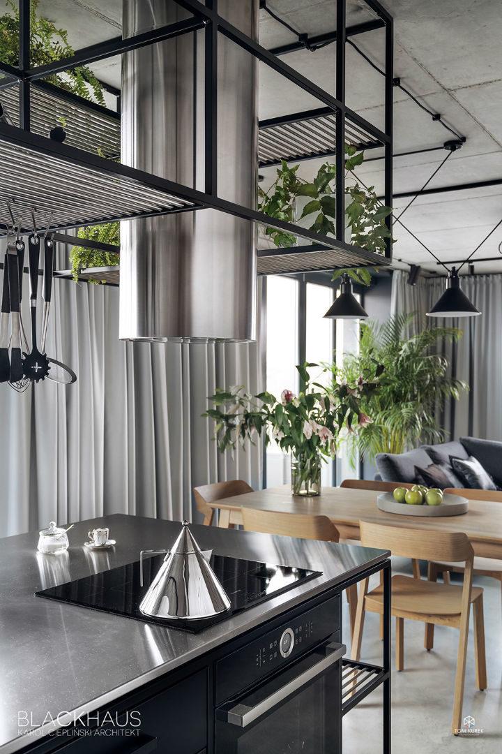 contemporary concrete house interior design 13