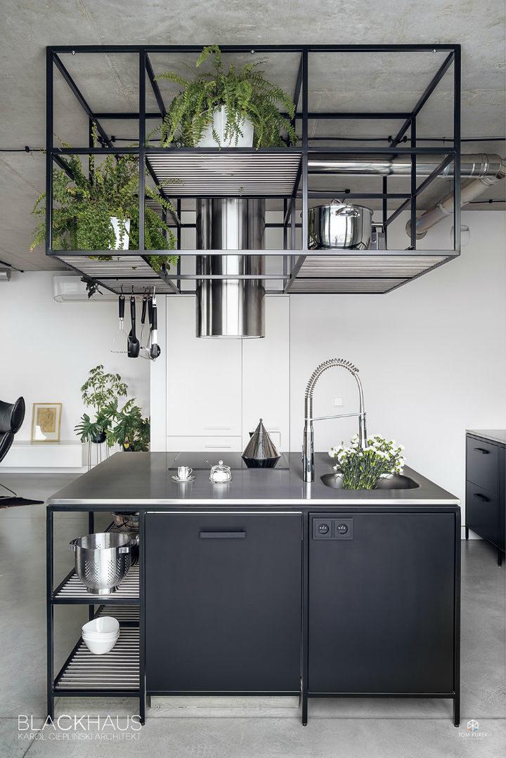 contemporary concrete house interior design 14