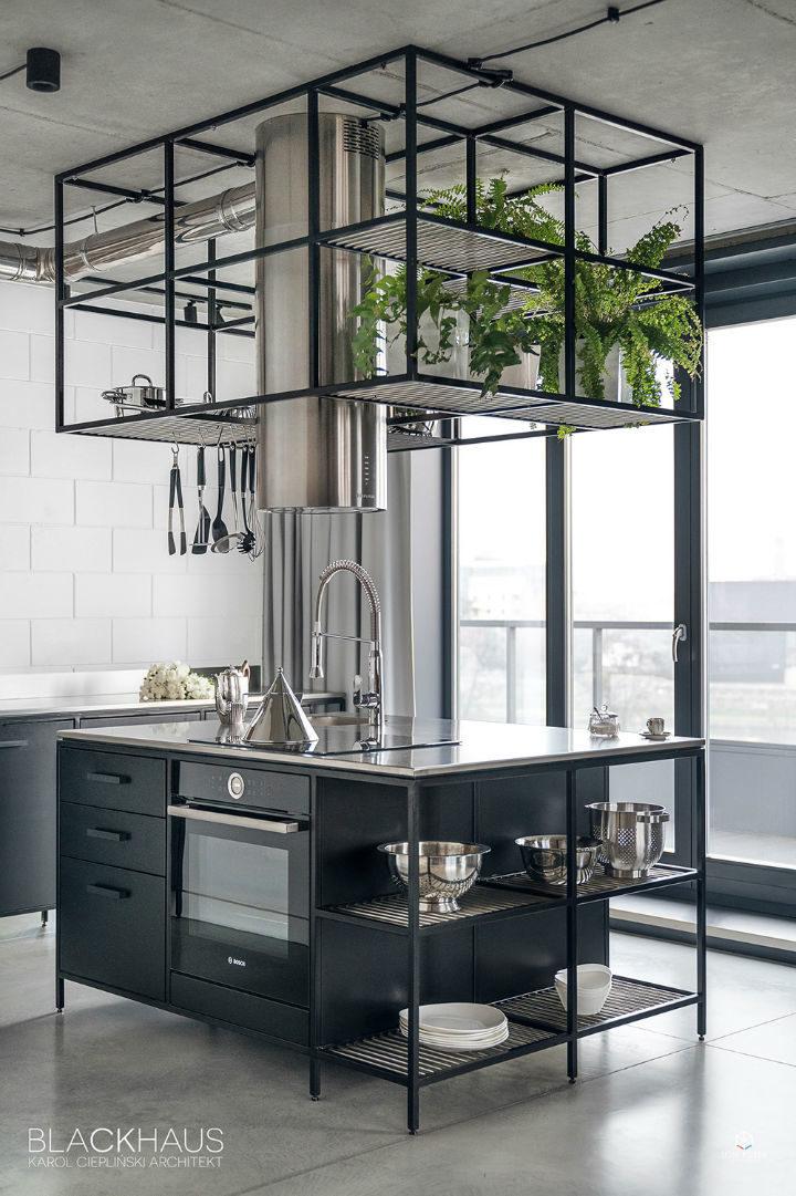 contemporary concrete house interior design 15