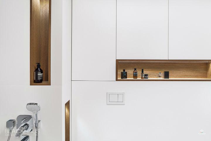 white clean lines minimalist white bathroom 2