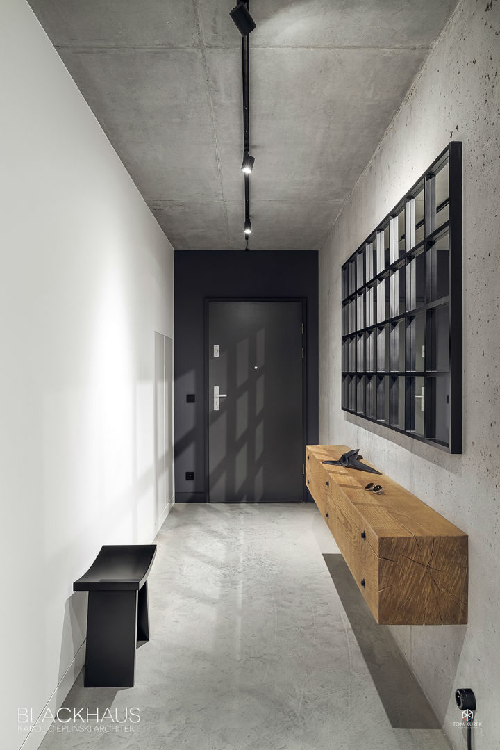 contemporary concrete house interior design 4