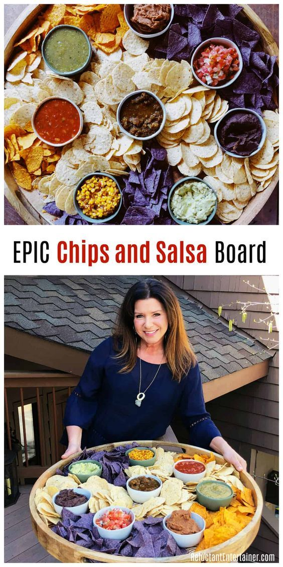 Chips and Salsa Board
