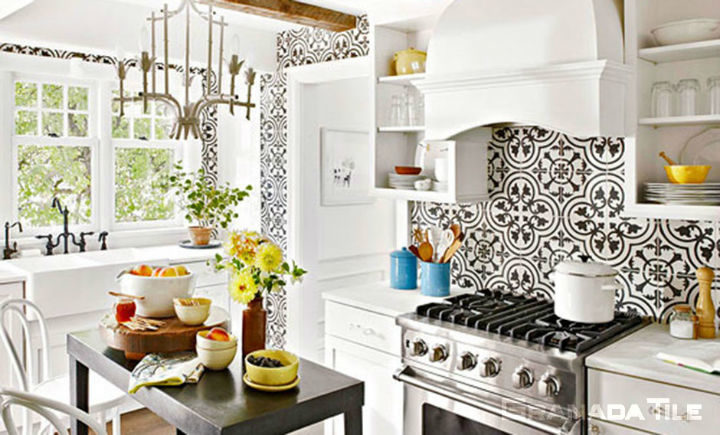 Kitchen Wall Tiles And Floor Tiles Decoholic