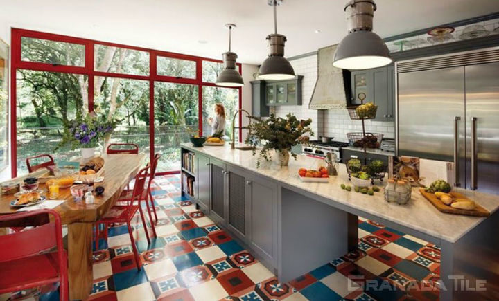 Kitchen Wall Tiles and Floor Tiles 7
