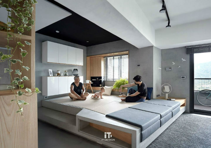 Minimalist Taiwanese Interior Design 2