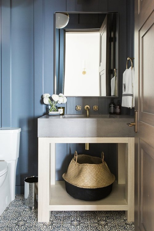 blue bathroom design idea 8