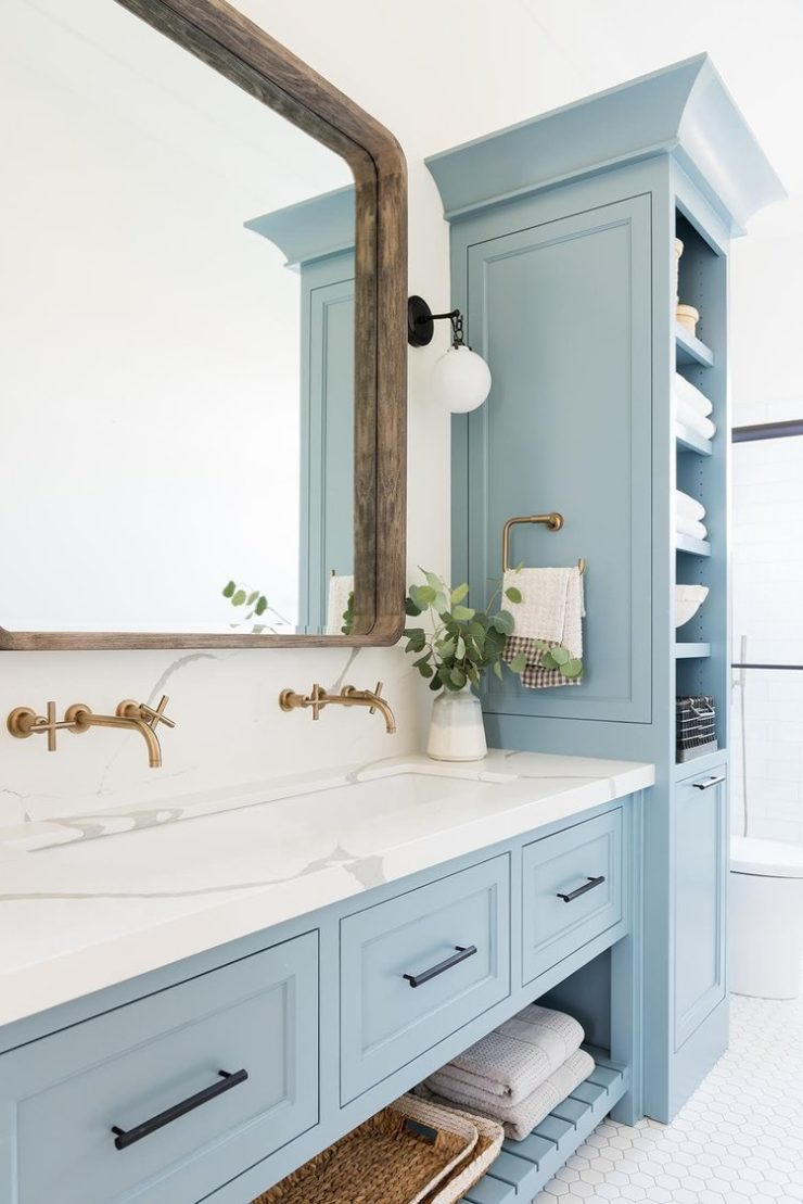12 Blue Bathroom Ideas You Ll Love Decoholic