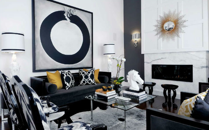Glamorous Chic and Sophisticated Interiors 26
