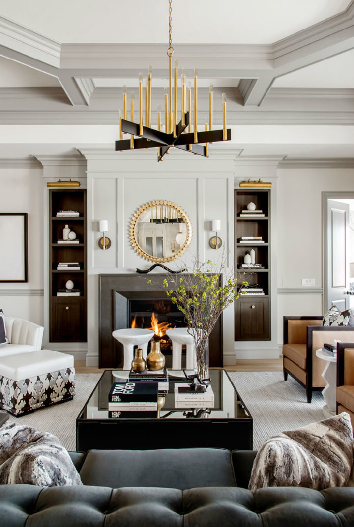 Glamorous Chic and Sophisticated Interiors 28