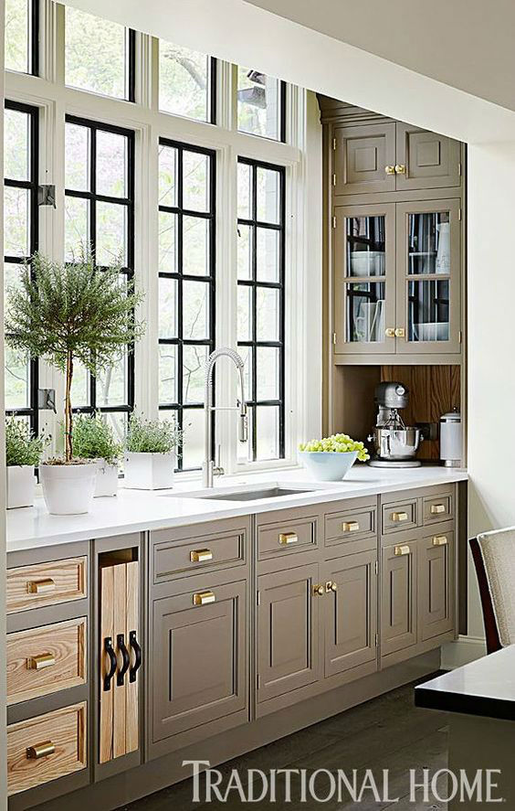 Deluxe Handcrafted Kitchen Design Ideas 1