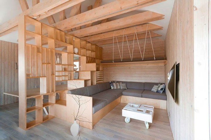 Multifunctional Cool and Minimalist Interior 13