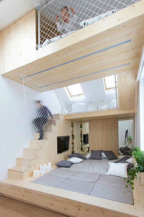 Multifunctional Cool and Minimalist Interior 15