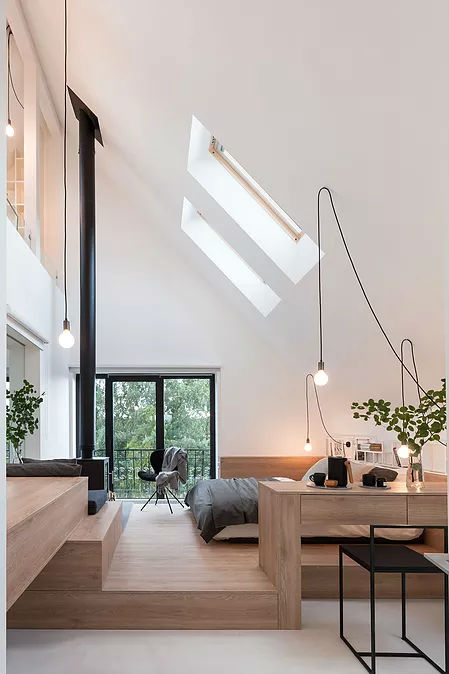 Multifunctional Cool and Minimalist Interior 2