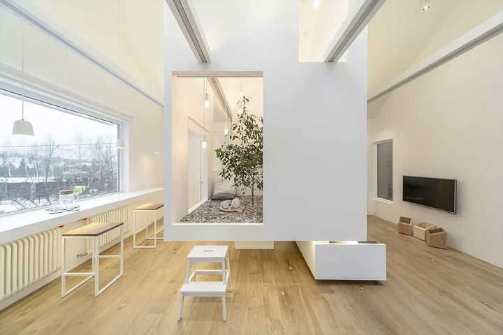 Multifunctional Cool and Minimalist Interior 23