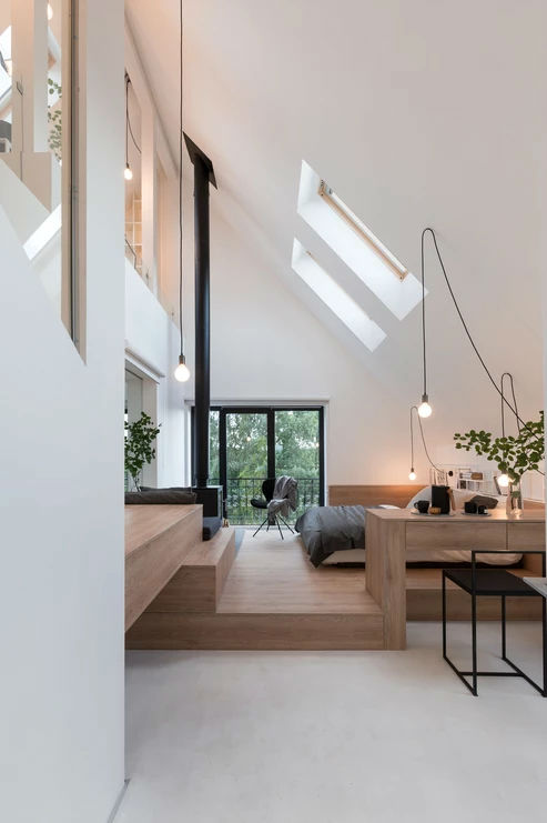 Multifunctional Cool and Minimalist Interior 3