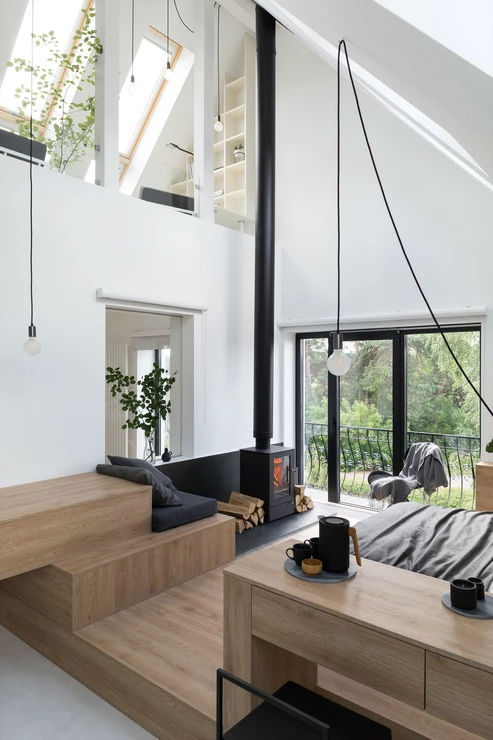 Multifunctional Cool and Minimalist Interior 5