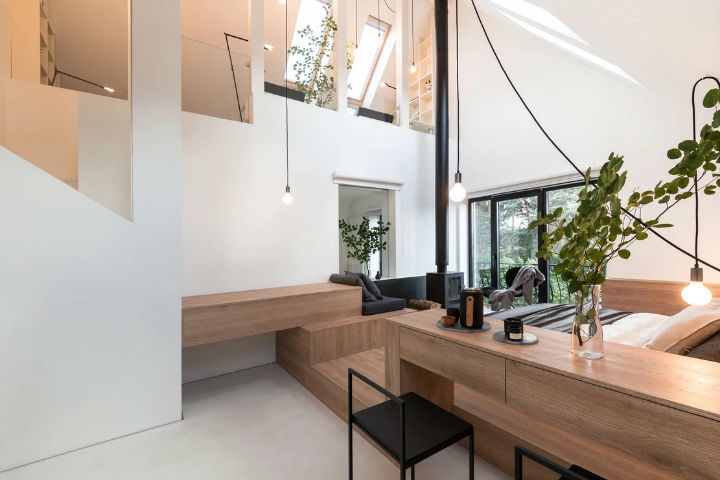 Multifunctional Cool and Minimalist Interior 6
