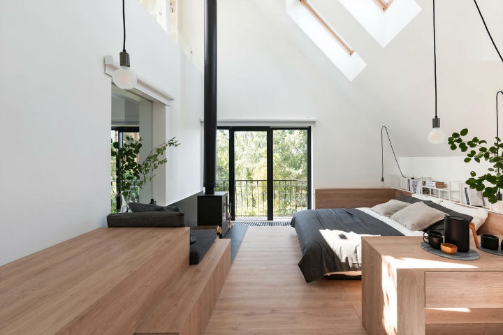 Multifunctional Cool and Minimalist Interior