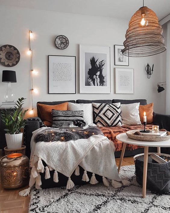 21 Fabulous Rustic Glam Living Room Decor Ideas: 8 Stylish Home Decor Hacks For Renters