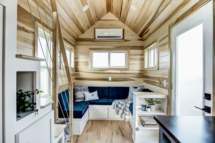 tiny stylish trailer home interior design 10