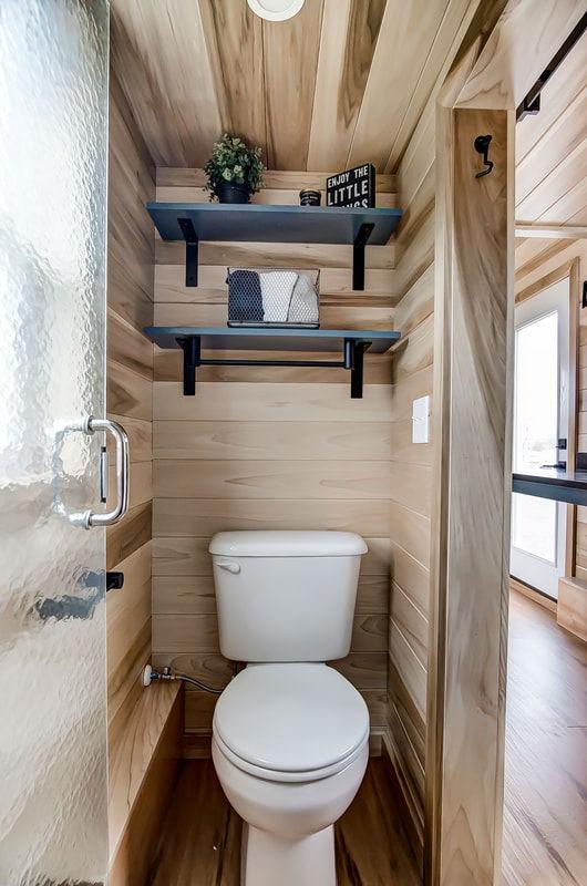 tiny stylish trailer home interior design 12