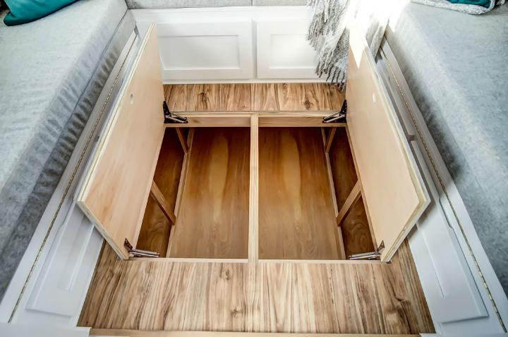 tiny stylish trailer home interior design 18