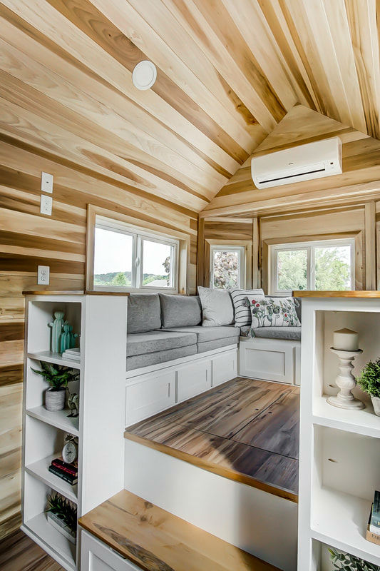 tiny stylish trailer home interior design 24