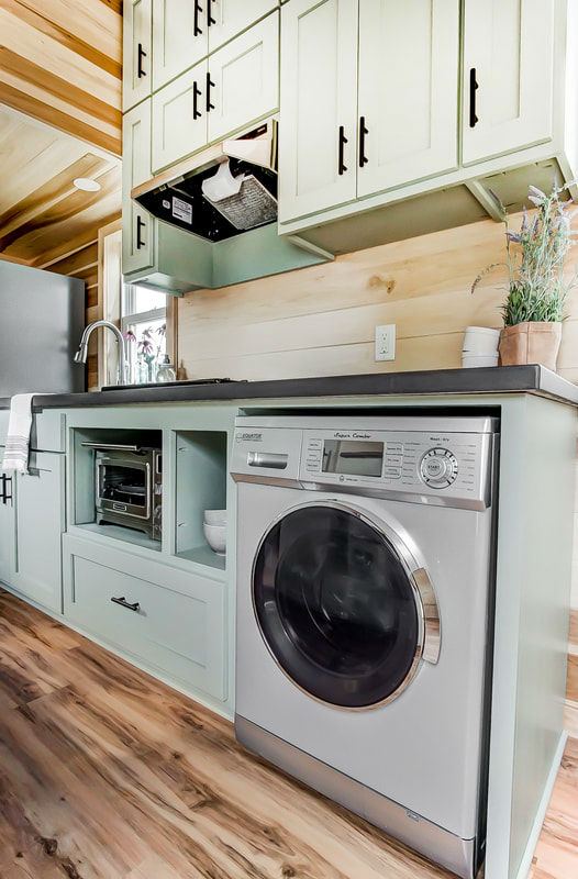 tiny stylish trailer home interior design 25
