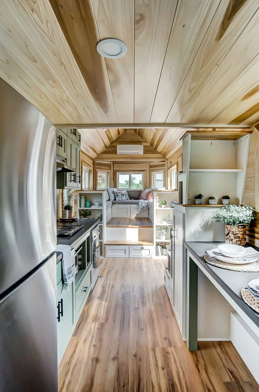 tiny stylish trailer home interior design 30