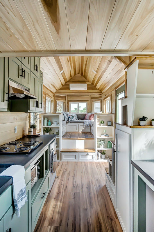 tiny stylish trailer home interior design 31