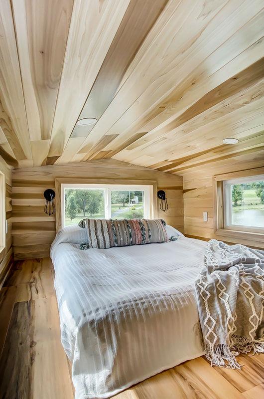 tiny stylish trailer home interior design 33