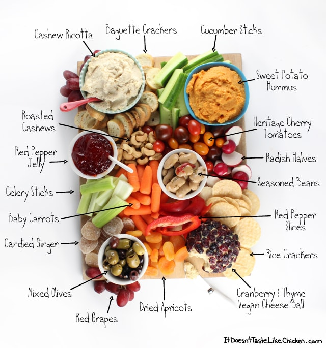 Vegan Snack Board