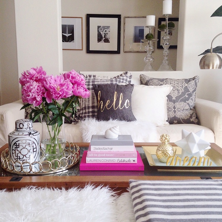 Coffee Table decorating idea