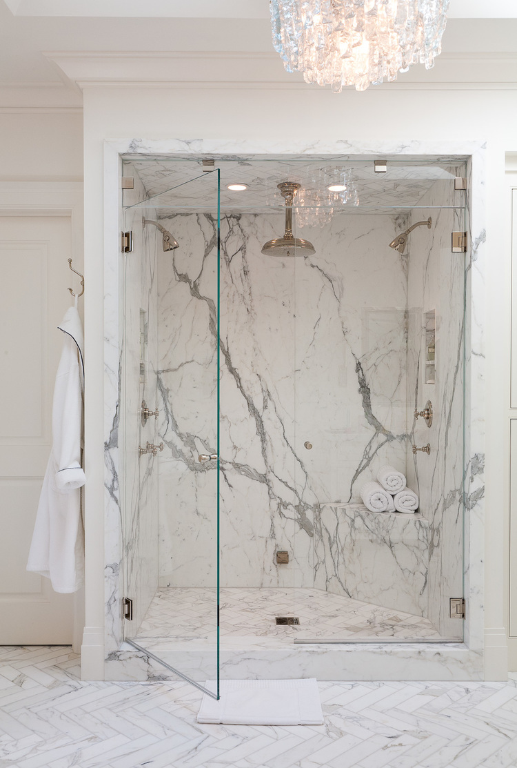 marble in shower design idea 8