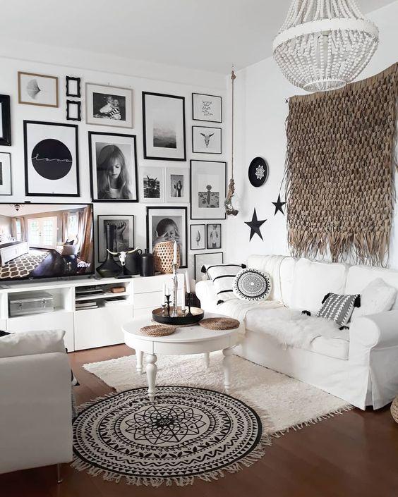 tv wall decor idea