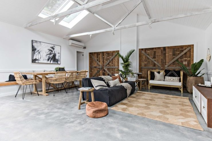 beach chic interior design idea 13