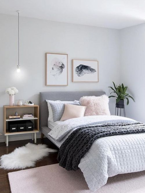 grey bedroom design idea 10