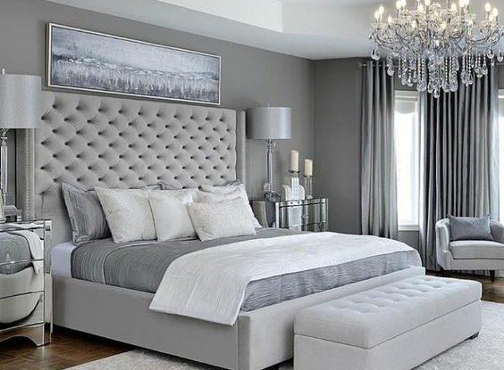 grey bedroom design idea 11