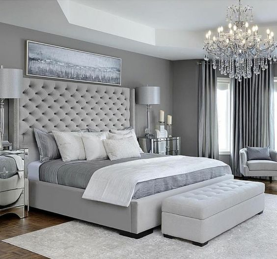 Grey Bedroom Decorating: Is Gray A Good Color To Paint A Bedroom?